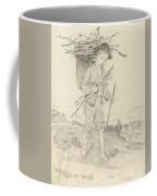 From Rudolf Hirth Frenes 1846 Grafentonna   Miltenberg 1916 Young Reisigsammlerinnen Coffee Mug