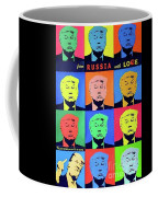 Trump From Russia With Love Coffee Mug