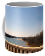 From The Bridge The Red River Coffee Mug
