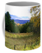 From The Field To The Mountains Coffee Mug