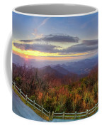 From The Top Of Brasstown Bald Coffee Mug