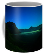From The Top Of Logan Pass In The Early Morning Coffee Mug