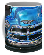 Front End Blue And Chrome Chevy Pick Up Coffee Mug
