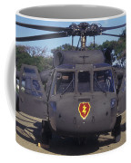 Front View Of An Army Hh-60 Pave Hawk Coffee Mug by Michael Wood