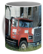 Front Of A Ford 9000 Powerhouse Coffee Mug