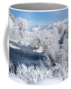 Frost Along The River Coffee Mug