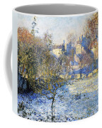Frost Coffee Mug by Claude Monet
