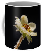 Frost On The Flower Coffee Mug