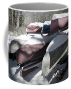 Frosted Canoes Coffee Mug