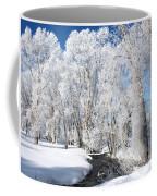 Frosted Cottonwoods Coffee Mug
