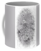 Frosted Grapes Vignette Coffee Mug