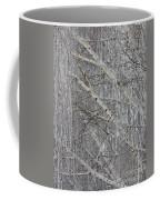 Frosty Birch Tree Coffee Mug