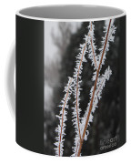 Frosty Branches Coffee Mug by Carol Groenen