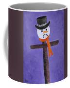 Frosty Cross Coffee Mug
