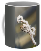 Frosty Curlique With A Twist Coffee Mug