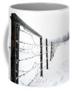Frosty Fenceline Coffee Mug