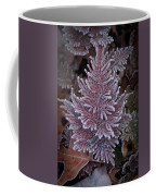 Frosty Fern Christmas Coffee Mug