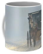 Frosty Morning In Amishland Coffee Mug