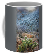 Frosty Prickly Pear Coffee Mug