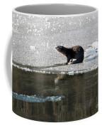 Frosty River Otter  Coffee Mug