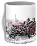 Frosty Tractor Coffee Mug