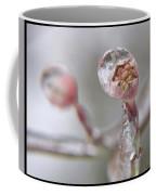 Frozen Dogwood Bud Coffee Mug