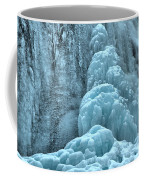 Frozen Falls Along The Icefields Parkway Coffee Mug