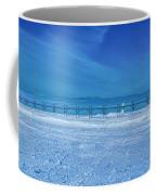 Frozen Lake Michgan At Grand Haven Coffee Mug