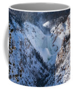 Frozen Lower Falls Coffee Mug