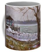 Frozen Niagara River Coffee Mug