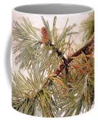 Frozen Pine Coffee Mug