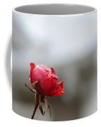 Frozen Red Rose- Macro Coffee Mug