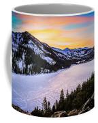 Frozen Reflections At Echo Lake Coffee Mug