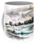 Frozen River Coffee Mug