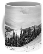 Frozen Valley 4 Bw  Coffee Mug
