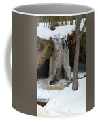 Frozen Waterfall Coffee Mug