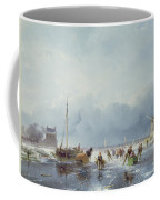 Frozen Winter Scene Coffee Mug