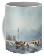 Frozen Winter Scene Coffee Mug