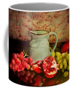 Fruit And Pitcher Coffee Mug