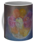 Fruit In Glass Bowl Coffee Mug by Sheila Mashaw