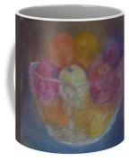 Fruit In Glass Bowl Coffee Mug by Sheila Mashaw