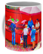 Fruit Of The Vendor Coffee Mug by Jeff Kolker