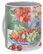 Fruit On A Plate Coffee Mug