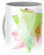 Fruit Polygon Pattern Coffee Mug