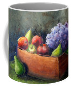 Fruit With Hydrangea Coffee Mug