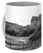 Fruita Farm In Black And White Coffee Mug