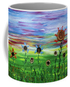 Fruity Flowerfield Coffee Mug