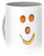 Fruity Happy Face Coffee Mug