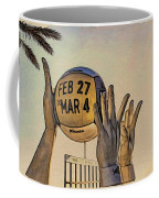 Ft Lauderdale Volleyball Time Coffee Mug