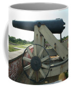 Ft Morgan Nc Cannon Coffee Mug